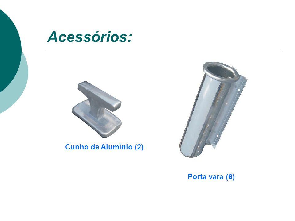 Acessórios: Amarrador de bico Alça de alumínio (4)