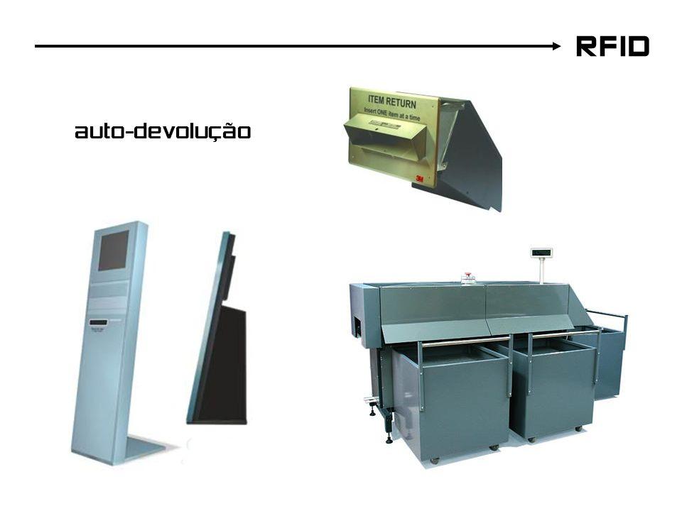 RFID auto-devolução