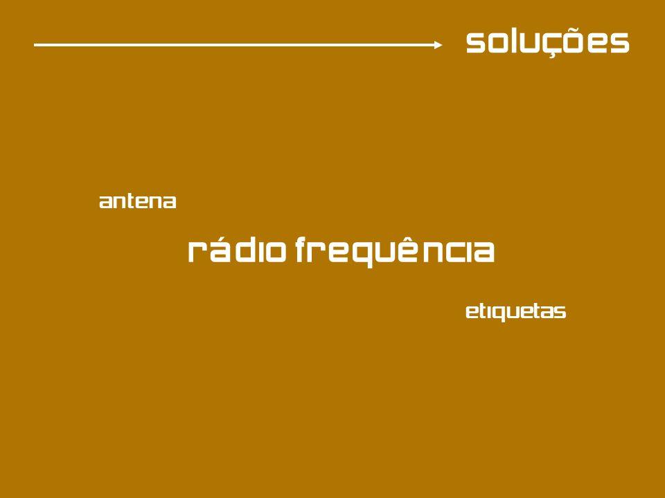 soluções RFID antena leitor transmissor (etiqueta)