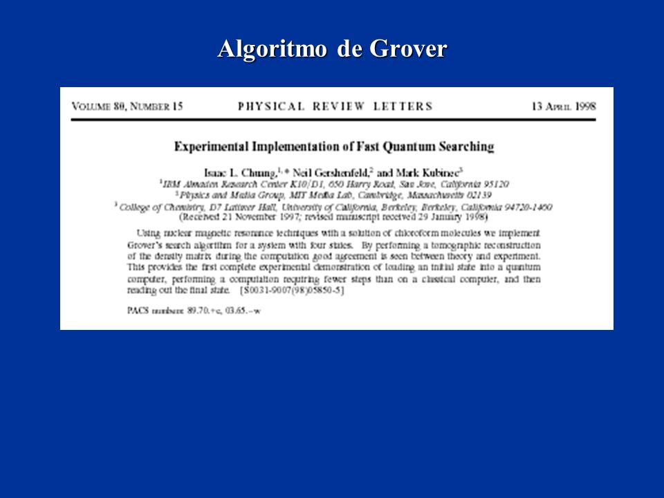 Algoritmo de Grover