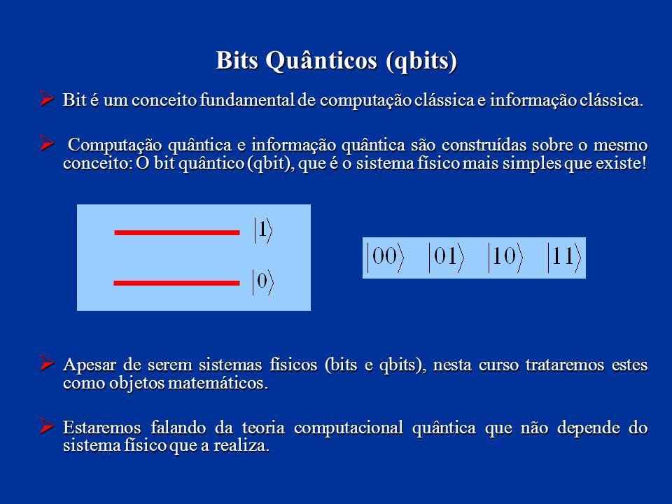 Bit é um conceito fundamental de computação clássica e informação clássica. Bit é um conceito fundamental de computação clássica e informação clássica