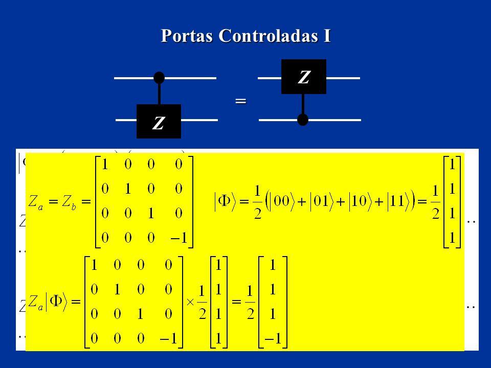 Portas Controladas I Z Z =