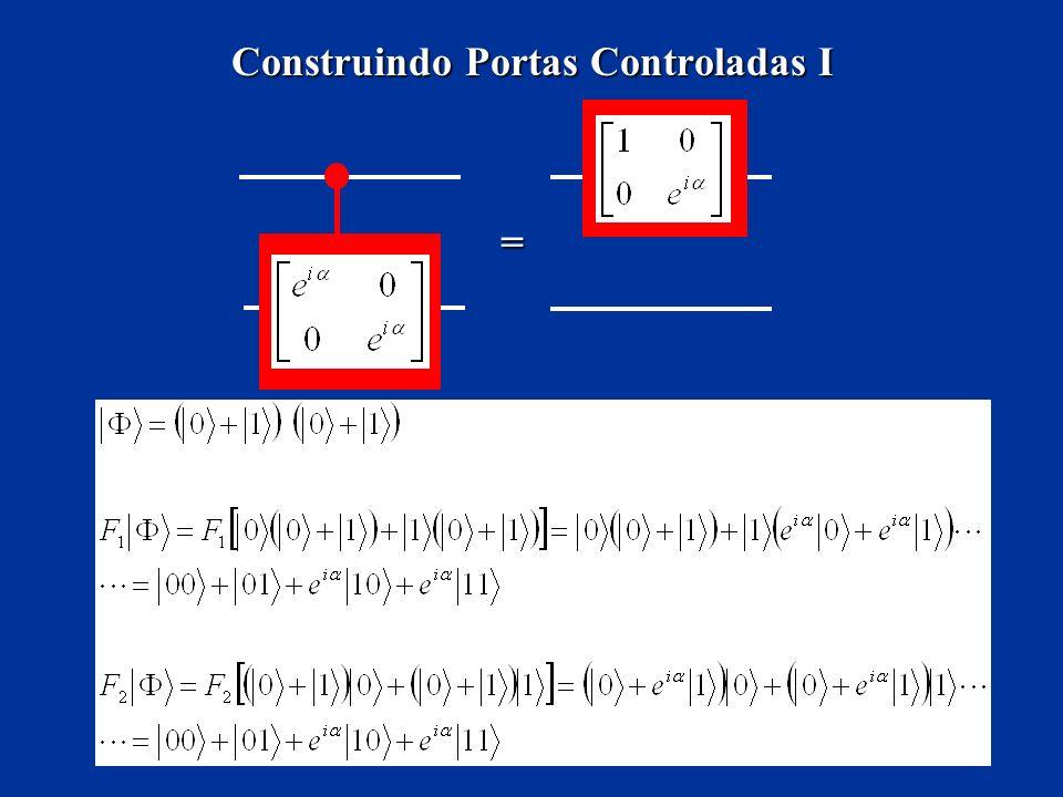 Construindo Portas Controladas I =