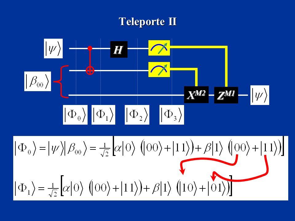 Teleporte II H X M2 Z M1