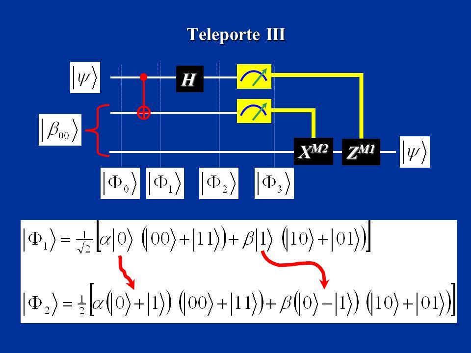 Teleporte III H X M2 Z M1