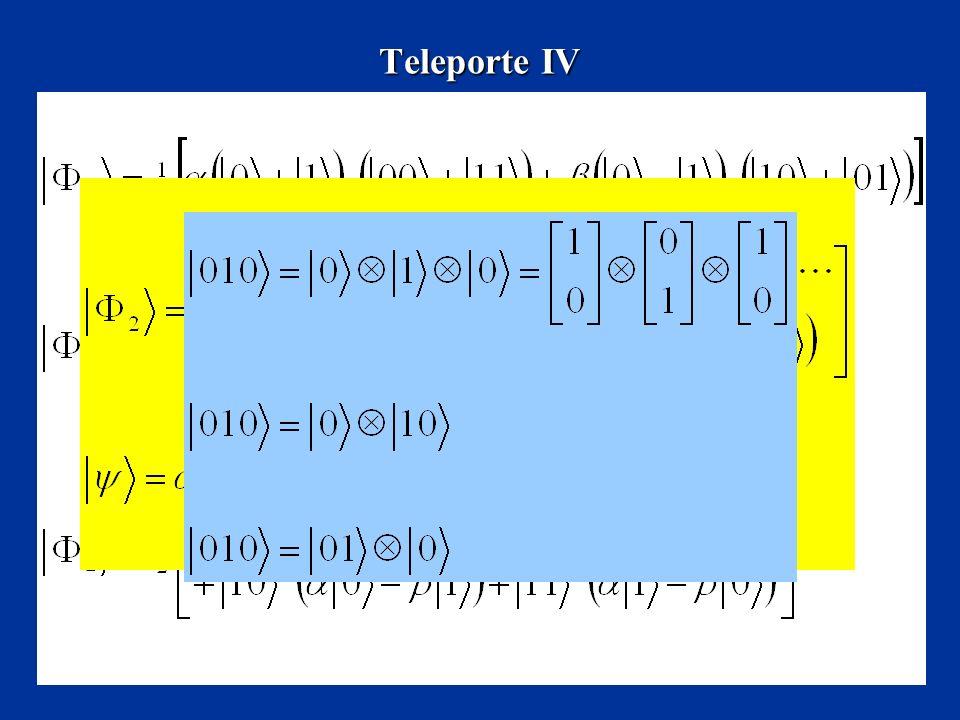Teleporte IV