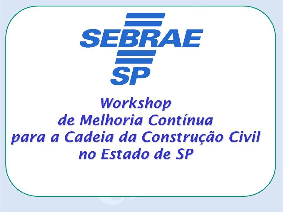 Workshop de Melhoria Contínua para a Cadeia da Construção Civil no Estado de SP