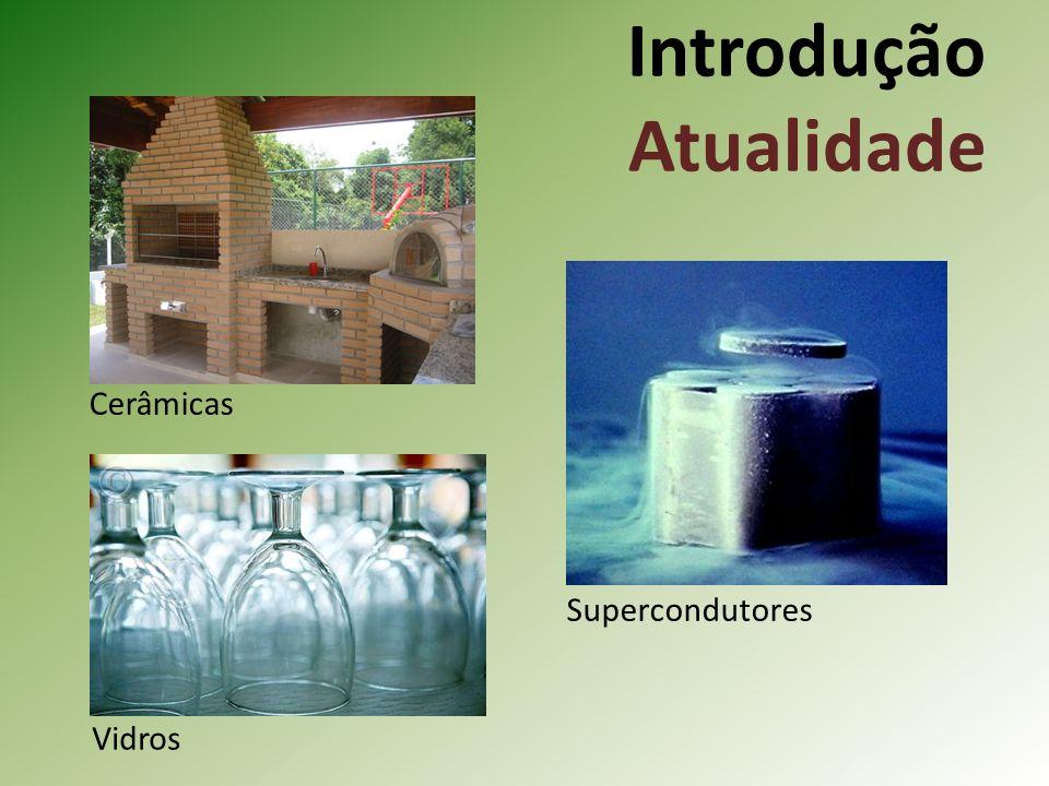 Introdução Atualidade Supercondutores Vidros Cerâmicas