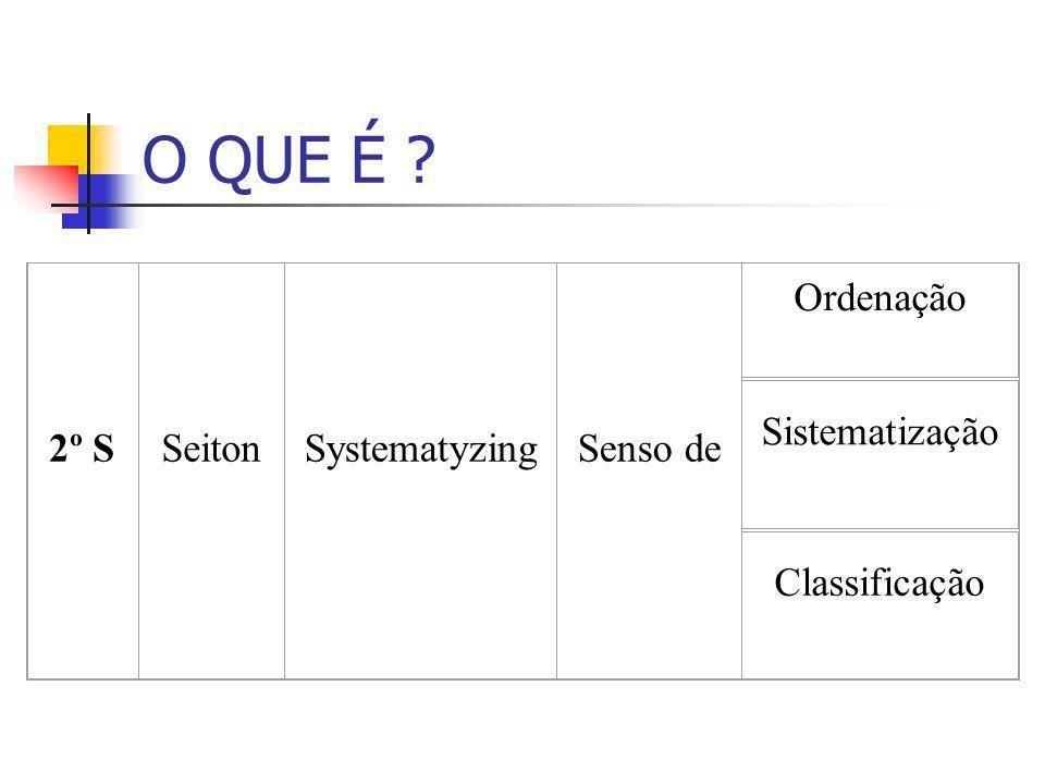 O QUE É ? 2º SSeitonSystematyzingSenso de Ordenação Sistematização Classificação