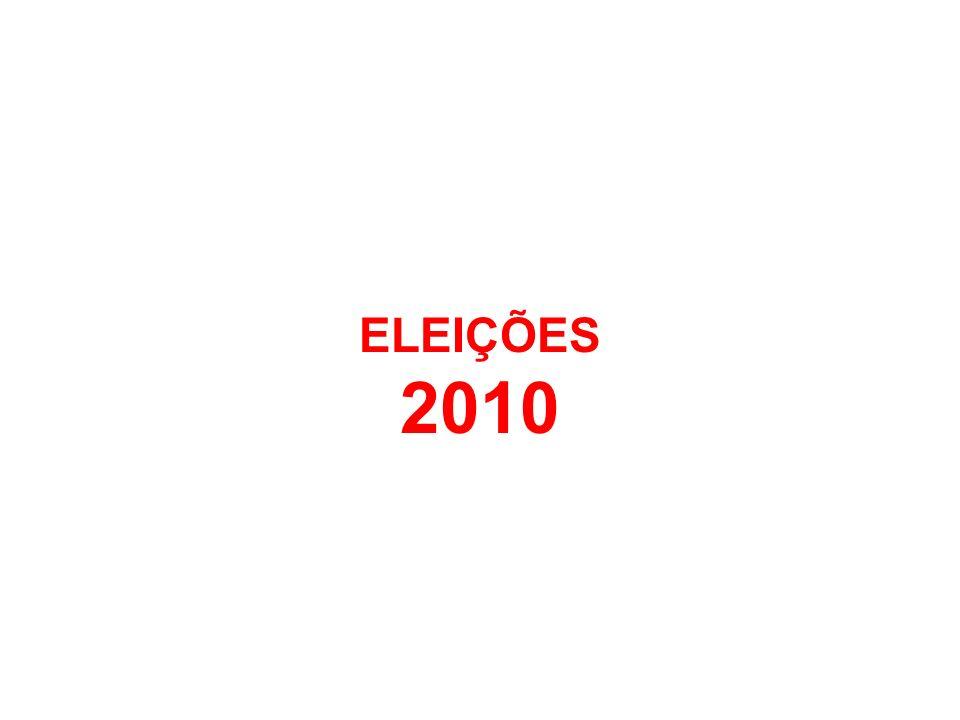 ELEIÇÕES 2008 ELEIÇÕES 2010