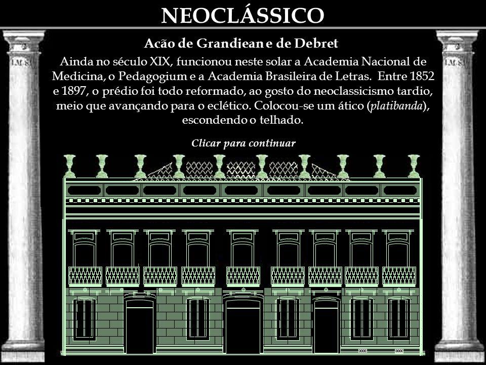 Entre seus alunos citemos José Maria Jacinto Rebelo, Araújo Porto Alegre e Joaquim Cândido Guillobel; este ultimo era de formação lusa, mas desejou ap