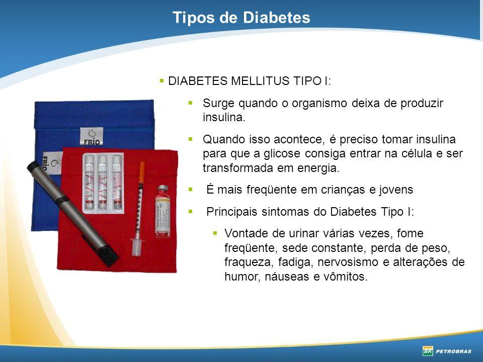 DIABETES MELLITUS TIPO II: Nesse caso, a produção de insulina é normal.