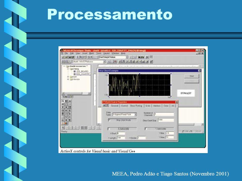 MEEA, Pedro Adão e Tiago Santos (Novembro 2001) Processamento