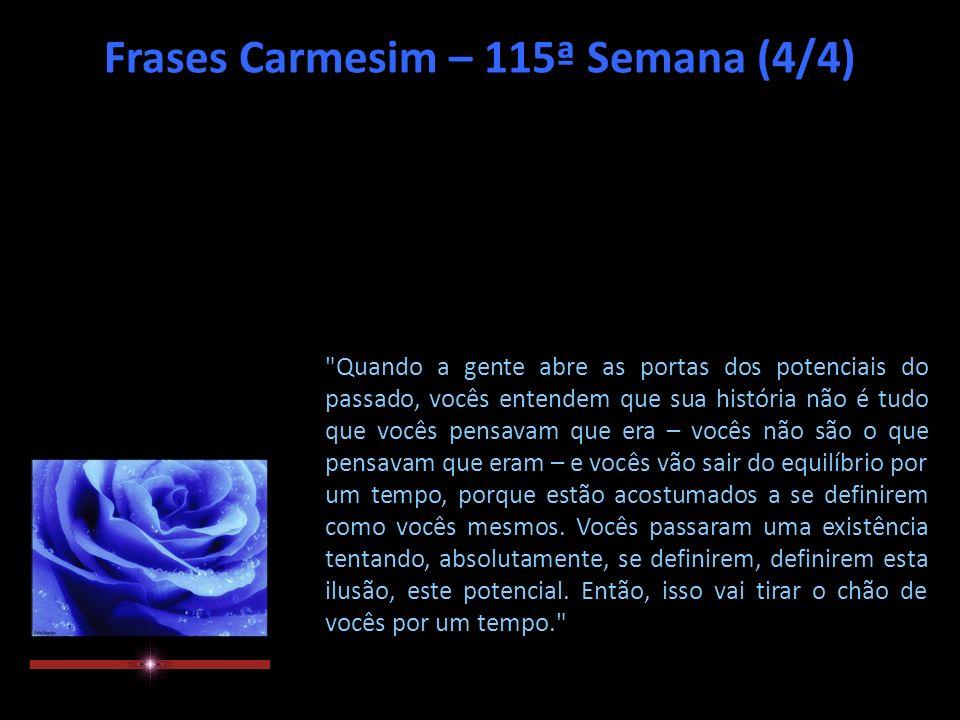 Frases Carmesim – 115ª Semana (3/4)
