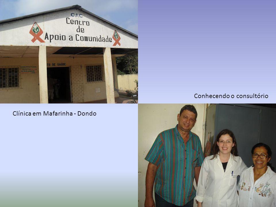 Clínica em Mafarinha - Dondo Conhecendo o consultório