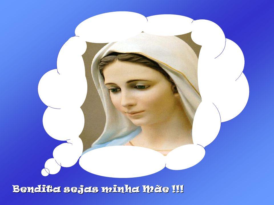 NÃO, NÃO, RESPONDEU-LHE JESUS, DEIXE ASSIM... ESSAS SÃO COISAS DE MAMÃE...