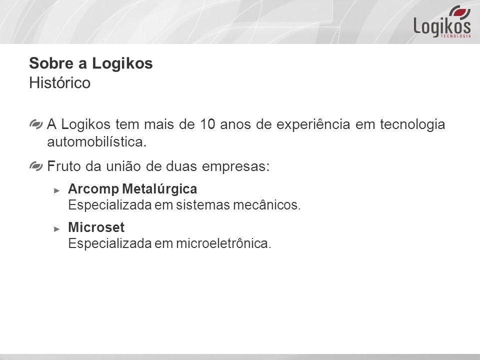 Sobre a Logikos Histórico A Logikos tem mais de 10 anos de experiência em tecnologia automobilística.