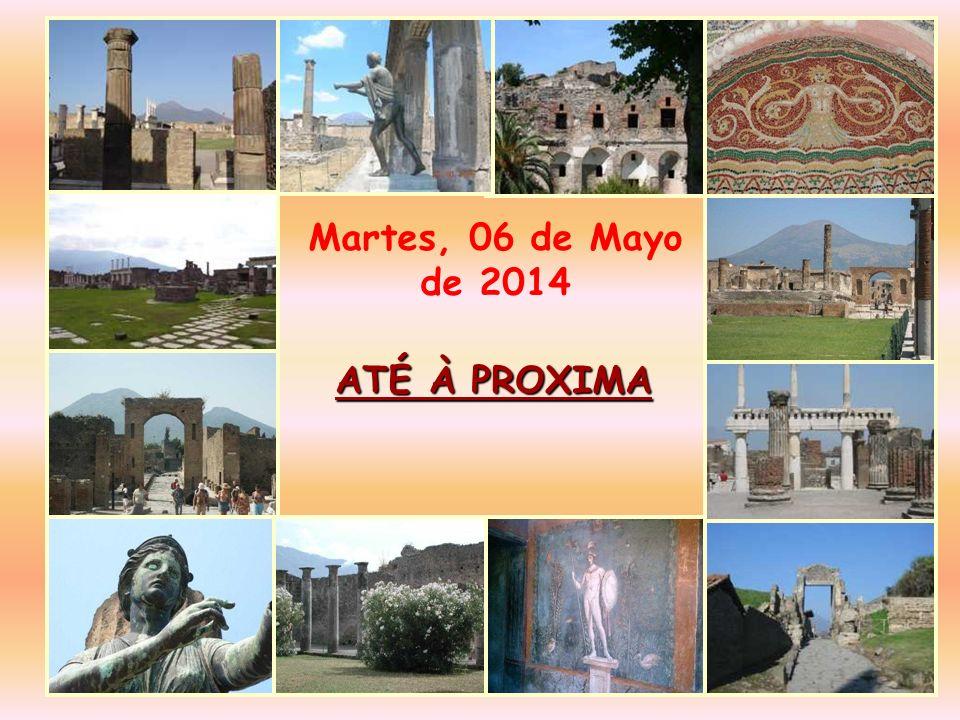 ATÉ À PROXIMA Martes, 06 de Mayo de 2014