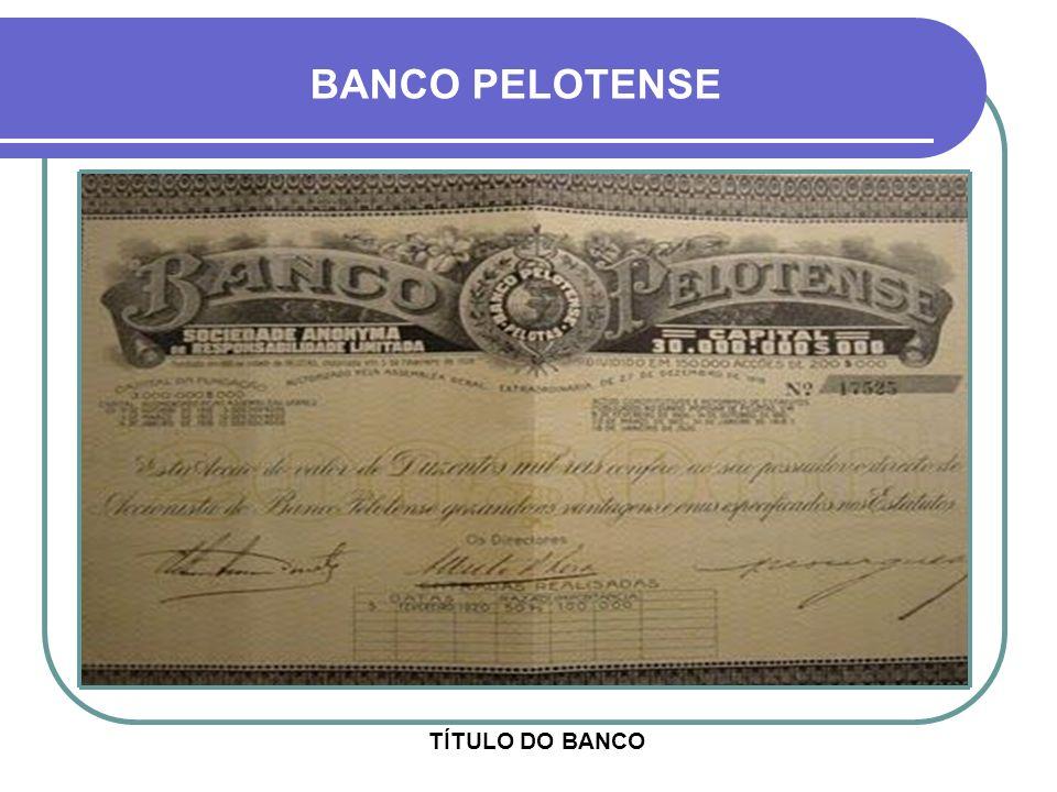 FOLHA DE CHEQUE DO BANCO BANCO PELOTENSE