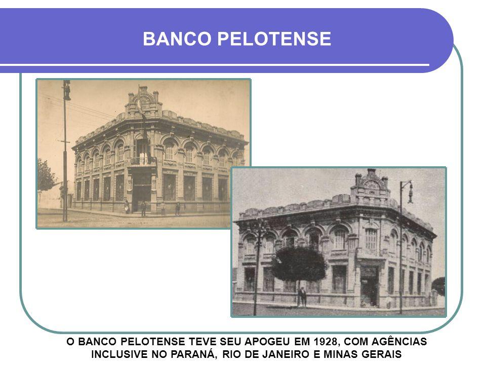 TÍTULO DO BANCO BANCO PELOTENSE