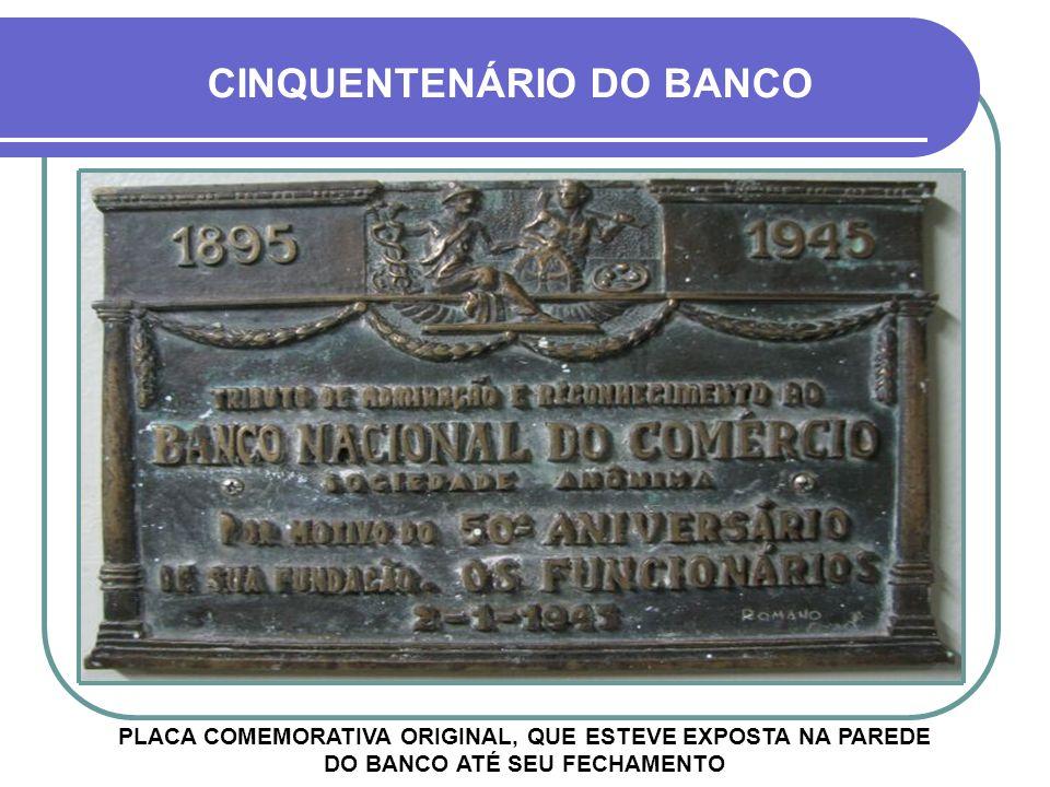 BANCO NACIONAL DO COMMERCIO FOLHAS DE CHEQUE DO BANCO