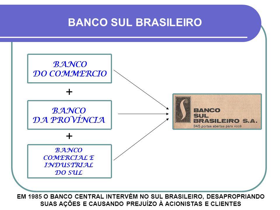 Até os anos 1960 houve um monopólio dos bancos gaúchos aqui no estado, o que mudou a partir do governo de Juscelino Kubitschek Vários bancos nacionais