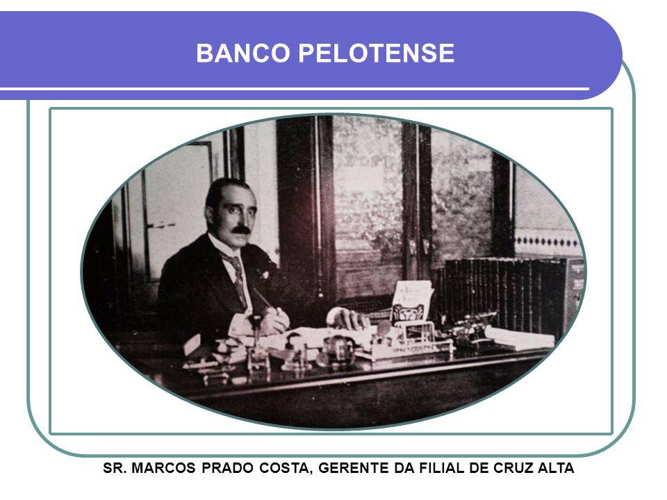 ACIMA, NOTA DO JORNAL CORREIO DO POVO, PUBLICADA NA ÉPOCA BANCO PELOTENSE