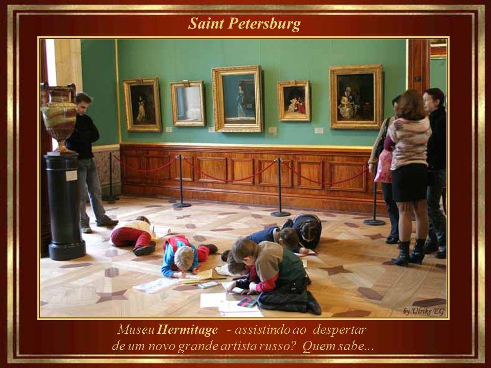 Saint Petersburg Museu Hermitage – a galeria Raphael Loggias