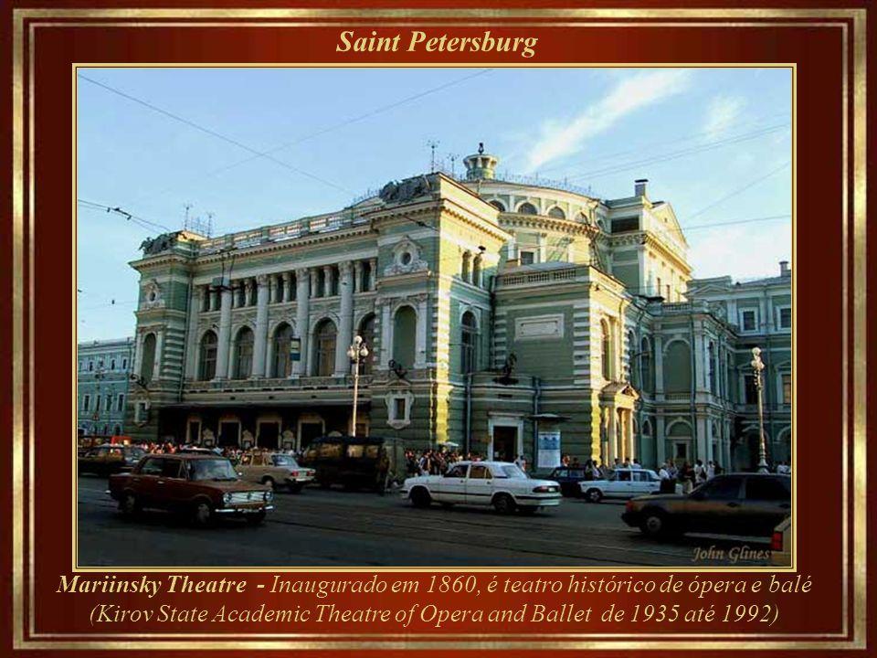 Saint Petersburg Metro - Estação Avtovo