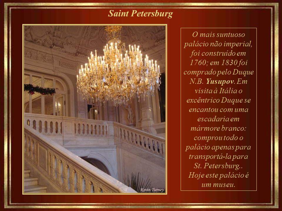 Saint Petersburg Café da manhã no Grand Hotel Europe