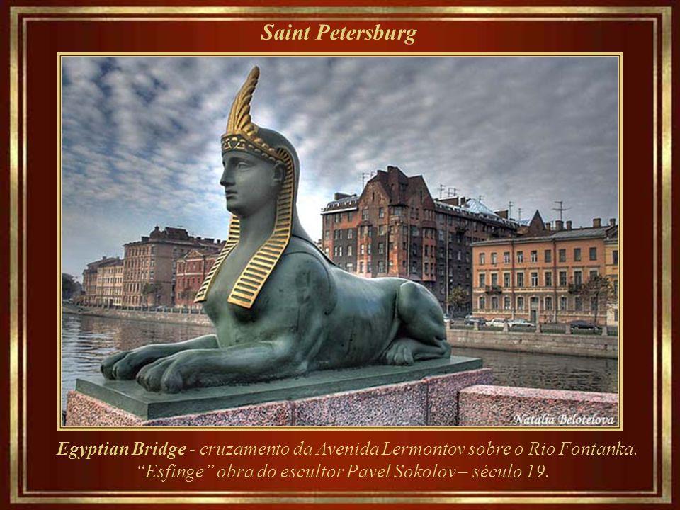 Saint Petersburg Monumento ao aguadeiro – Museu e complexo administrativo de Vodokanal.