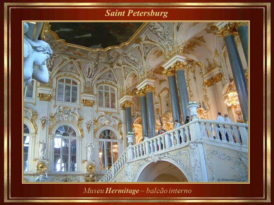 Saint Petersburg Catherine a Grande foi a primeira imperial ocupante. Seu acervo ultrapassa três milhões de obras, sendo que uma de suas primeiras gra