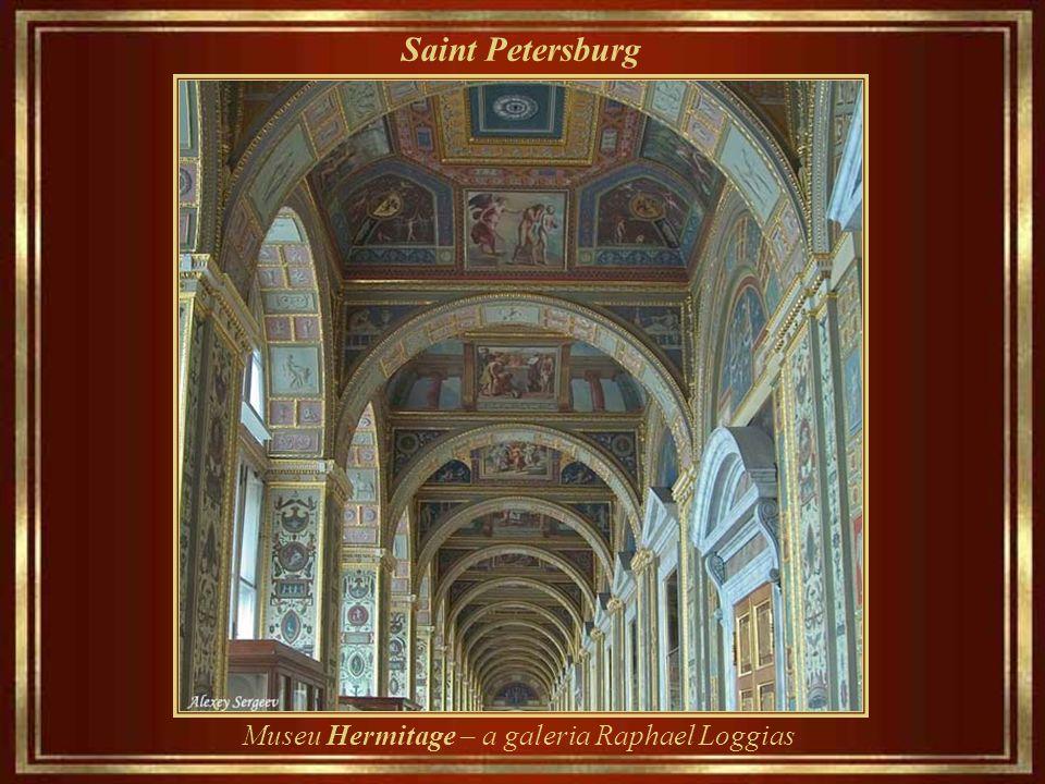 Saint Petersburg Museu Hermitage – a antiga biblioteca real