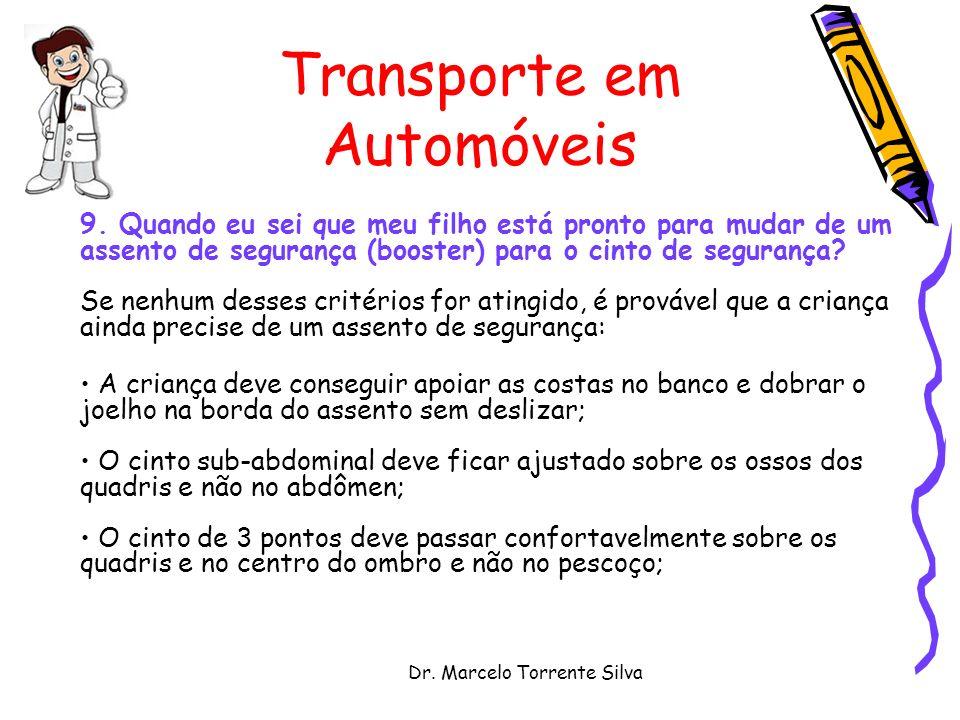 Dr.Marcelo Torrente Silva Transporte em Automóveis 9.