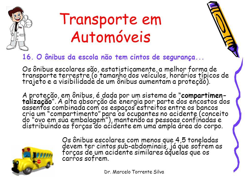 Dr.Marcelo Torrente Silva Transporte em Automóveis 16.