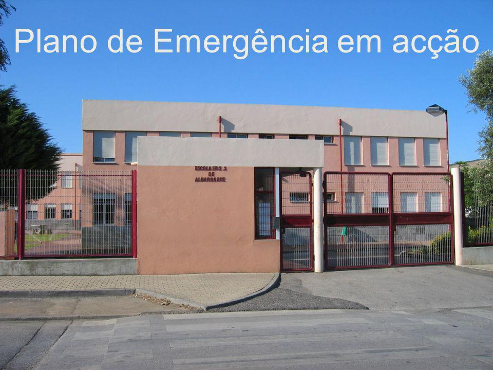Plano de Emergência em acção