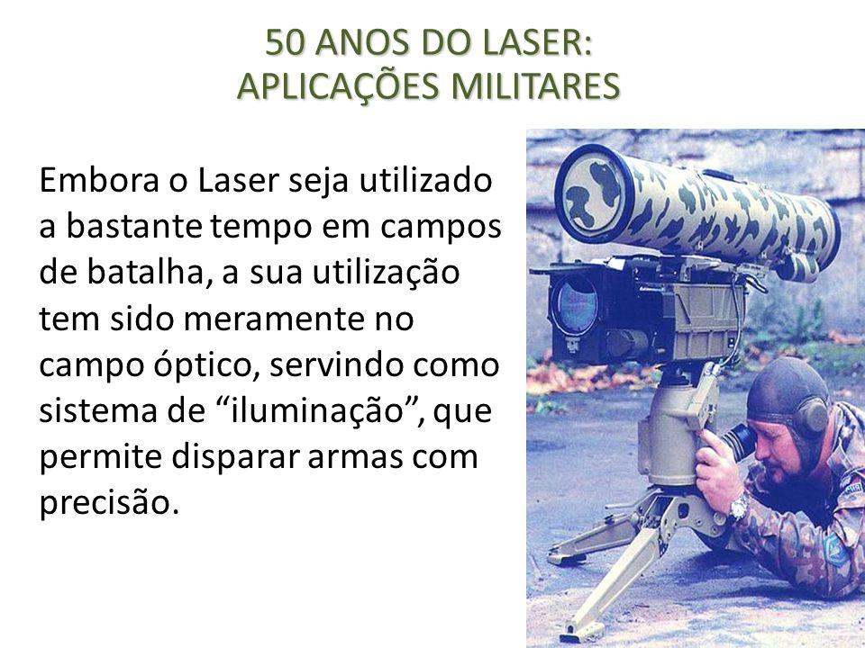 Embora o Laser seja utilizado a bastante tempo em campos de batalha, a sua utilização tem sido meramente no campo óptico, servindo como sistema de ilu