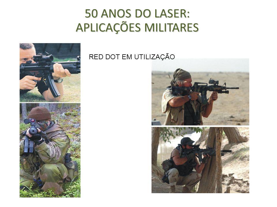 Embora o Laser seja utilizado a bastante tempo em campos de batalha, a sua utilização tem sido meramente no campo óptico, servindo como sistema de iluminação, que permite disparar armas com precisão.