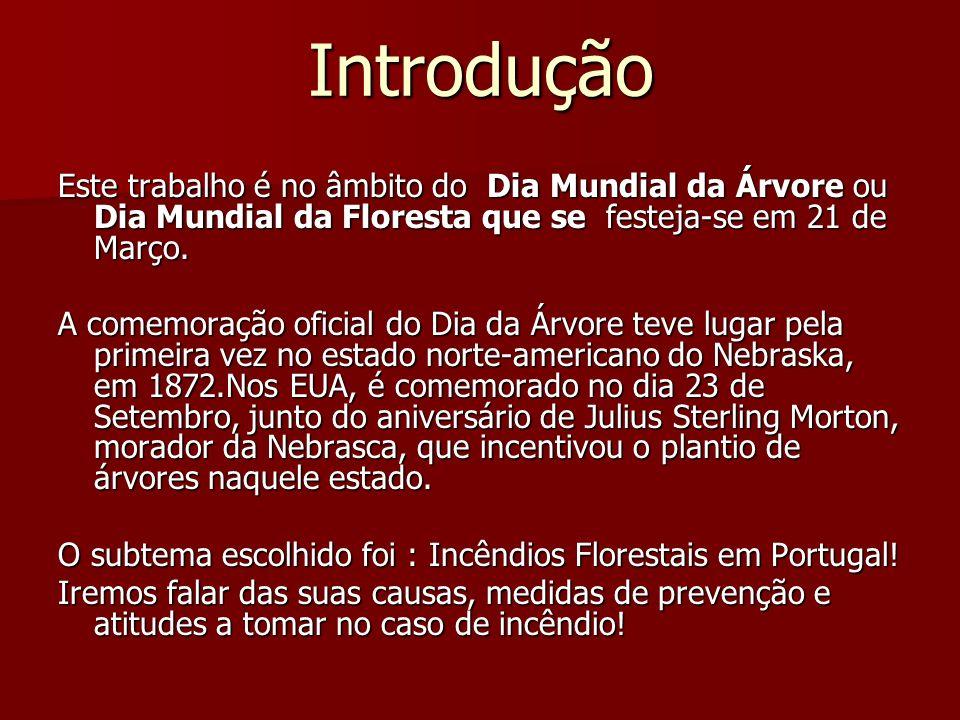 Causas de incêndios em Portugal