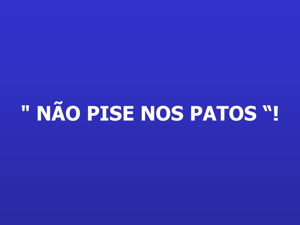 Chegando lá, São Pedro diz: Aqui no céu só tem uma regra: