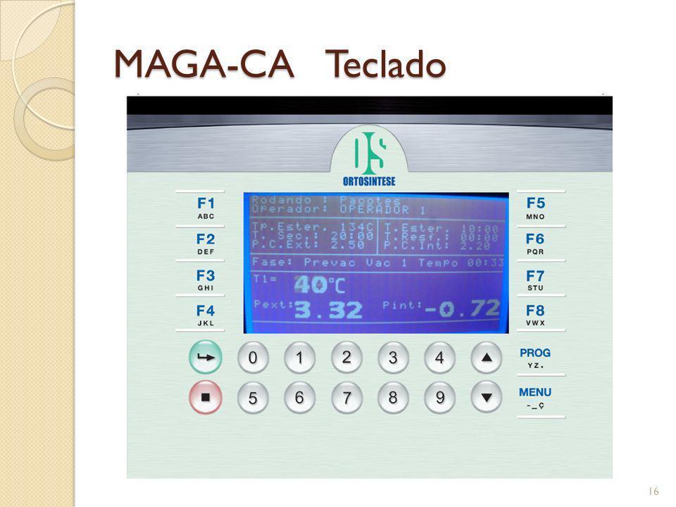 MAGA-CA Teclado 16