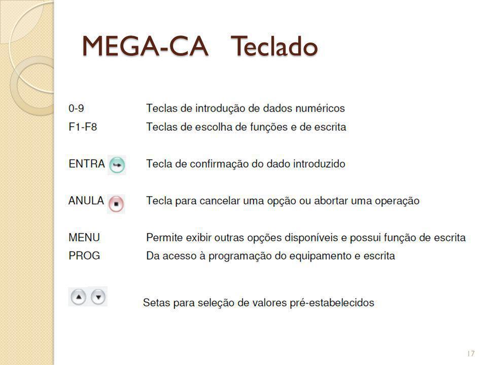 MEGA-CA Teclado 17