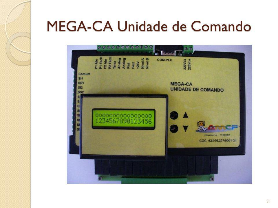 MEGA-CA Unidade de Comando 21