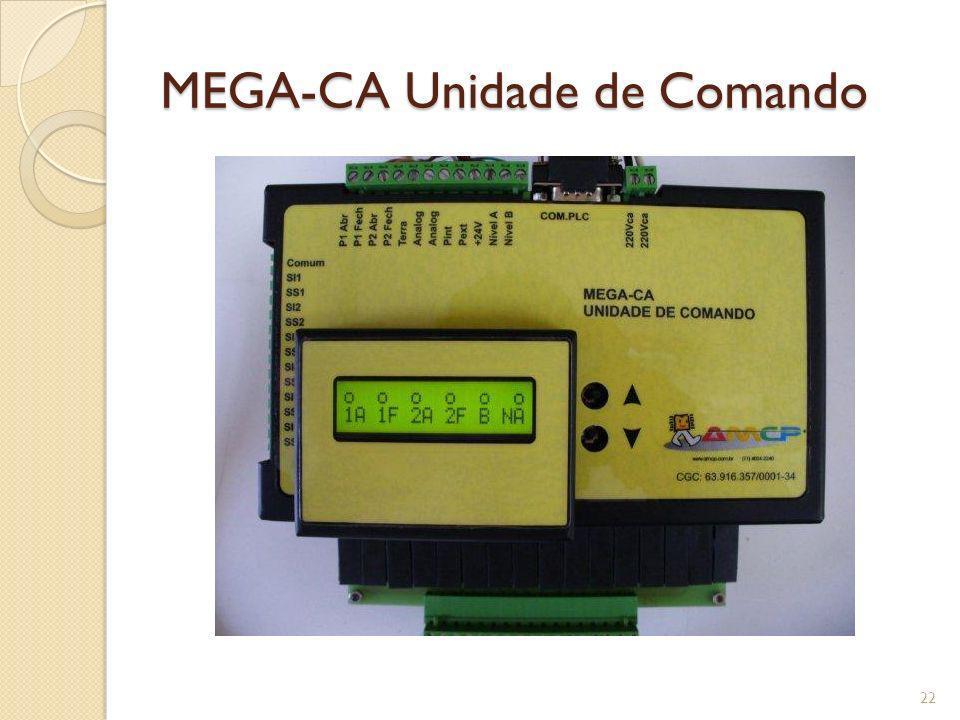 MEGA-CA Unidade de Comando 22