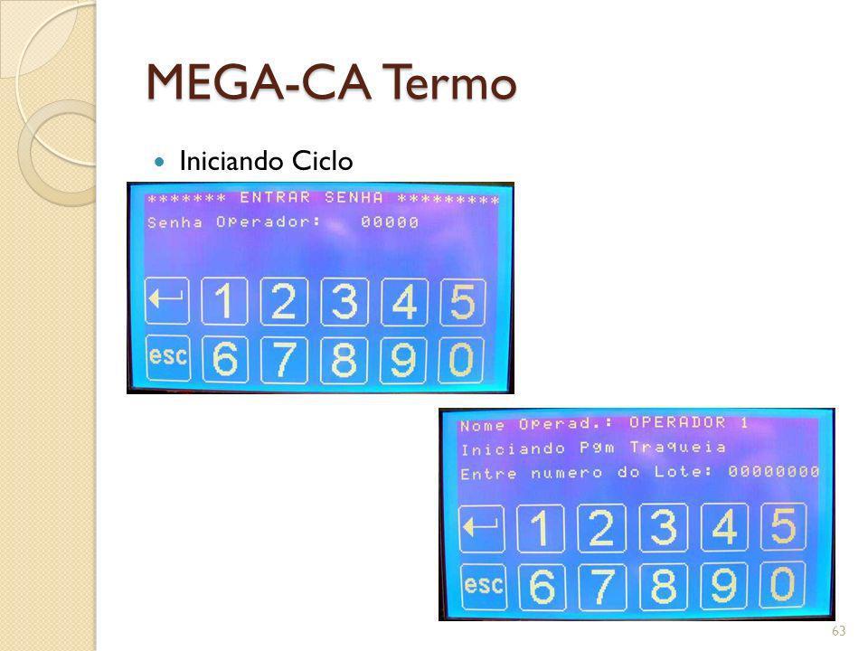 MEGA-CA Termo Iniciando Ciclo 63