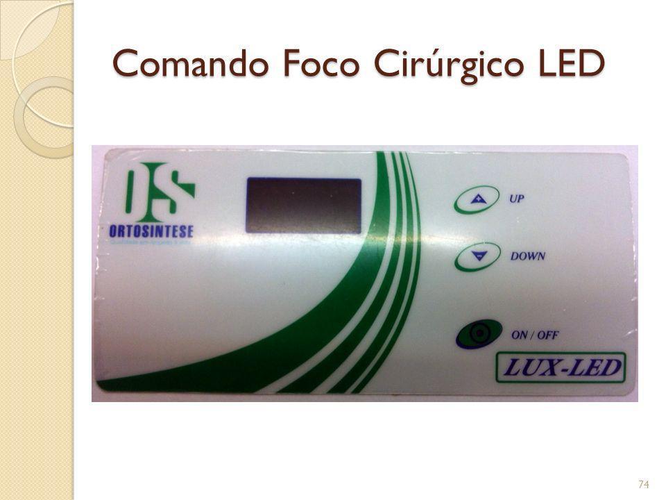 Comando Foco Cirúrgico LED 74