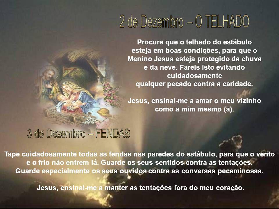 Frequentemente, durante o dia, ofereça o seu coração ao Menino Jesus.