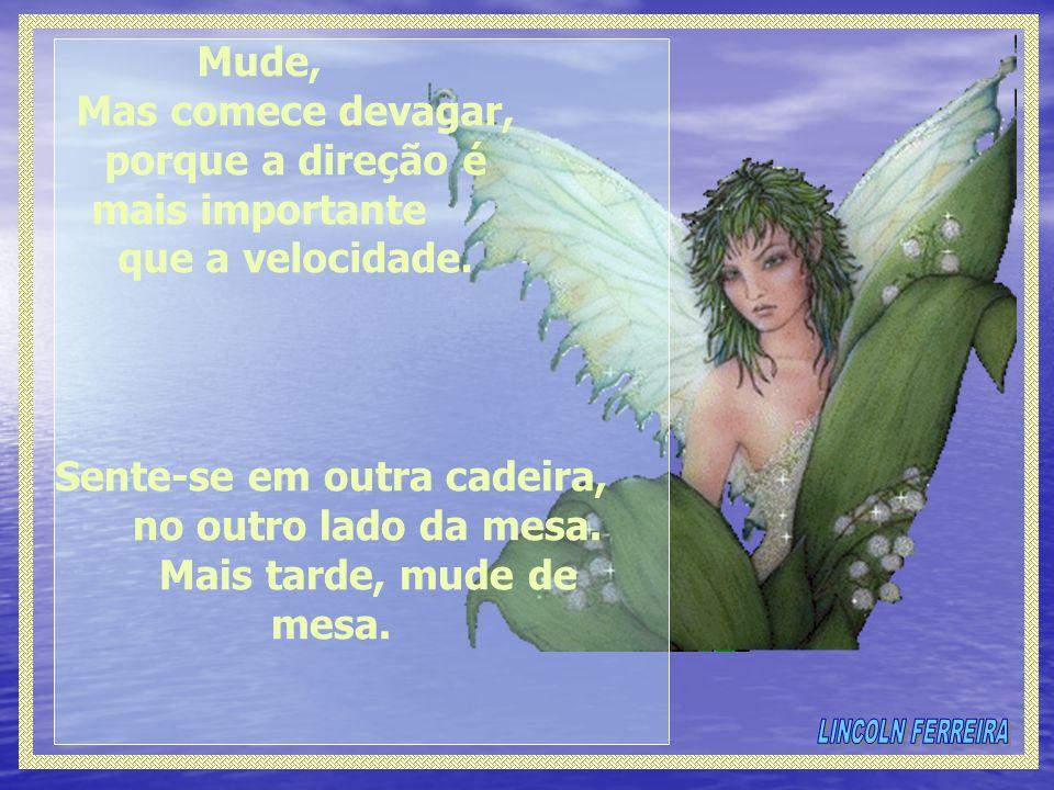 MUDAR (Clarice Lispector)