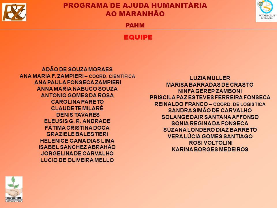 PROGRAMA DE AJUDA HUMANITÁRIA AO MARANHÃO PAHM OBJETIVOS: - OFERECER AOS PROFISSIONAIS QUE TRATAM DE PESSOAS DANIFICADAS PELA INUNDAÇÃO NO MARANHÃO, DE 2009, RECURSOS TEÓRICO-TÉCNICOS PARA DAR-LHES A ASSISTÊNCIA PSICOLÓGICA NECESSÁRIA PARA ALIVIAR O SOFRIMENTO CAUSADO PELO EVENTO TRAUMÁTICO, PARA QUE ESTE SEJA MELHOR ELABORADO E, ASSIM, EVITAR POSSÍVEIS TRANSTORNOS DE ESTRESSES PÓS TRAUMÁTICOS.