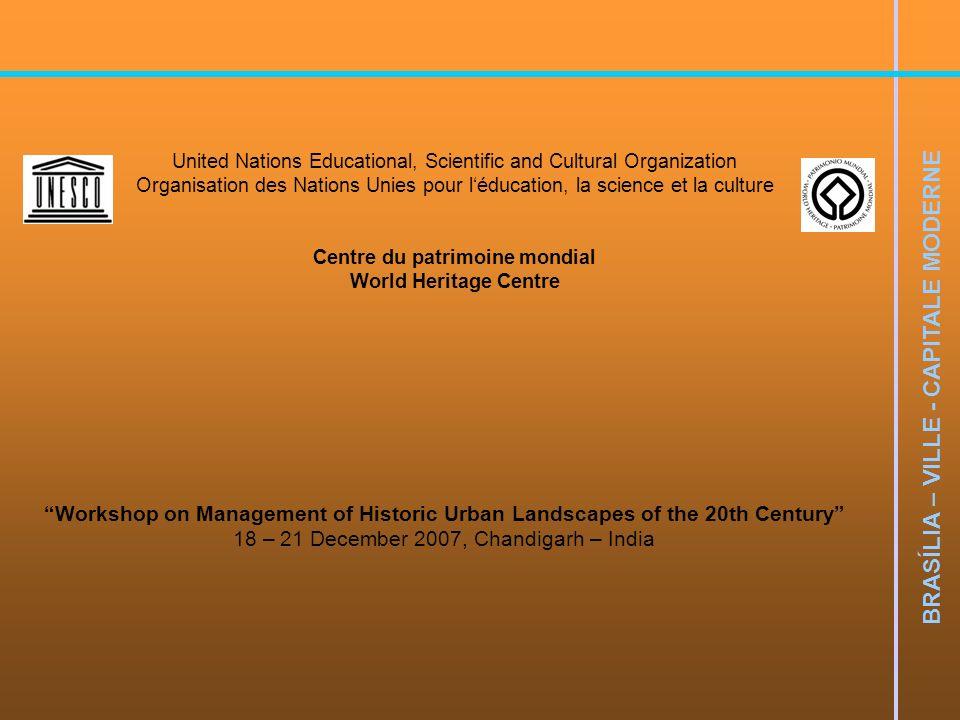BRASÍLIA – VILLE - CAPITALE MODERNE BRASÍLIA: CIDADE MODERNA, CIDADE ETERNA UNIVERSIDADE DE BRASÍLIA FACULDADE DE ARQUITETURA E URBANISMO Prof.